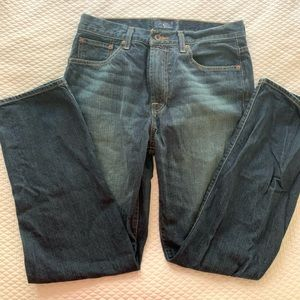 Men's Lucky Brand Relaxed Straight Jeans